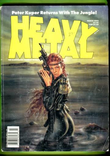 Heavy Metal Vol. XV #6 Mar 92