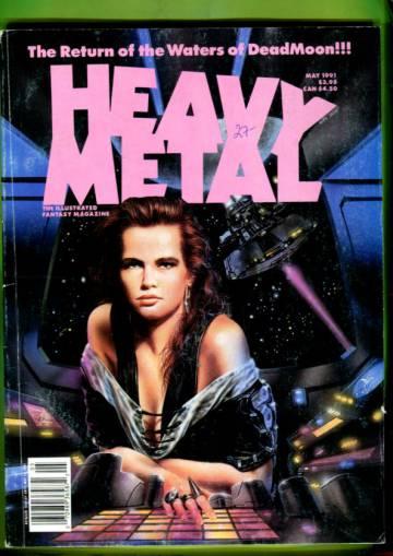 Heavy Metal Vol. XV #2 May 91