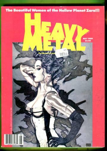 Heavy Metal Vol. XIII #2 May 89