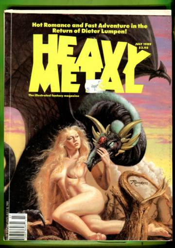 Heavy Metal Vol.VIII  #3 Jul 89