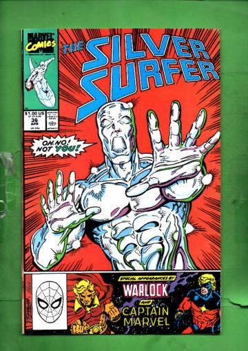 Silver Surfer Vol. 3 #36 Apr 90