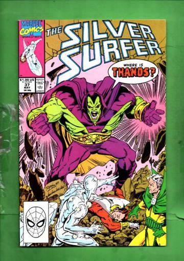 Silver Surfer Vol. 3 #37 May 90