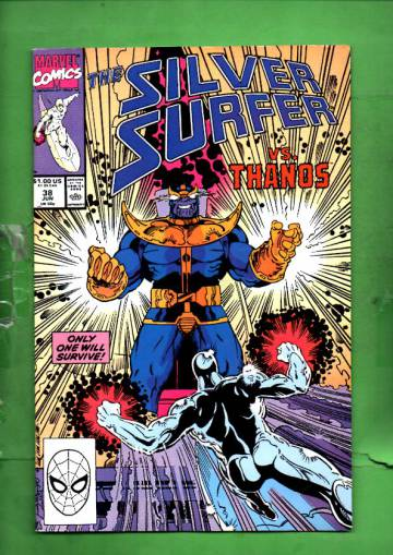 Silver Surfer Vol. 3 #38 Jun 90