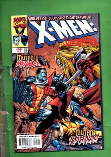 X-Men: Liberators Vol. 1 #3 Jan 99