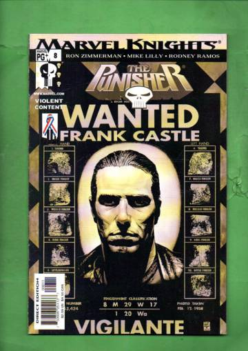 The Punisher Vol. 4 #8 Mar 02
