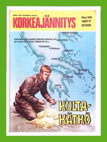 Korkeajännitys 10/77 - Kultakätkö