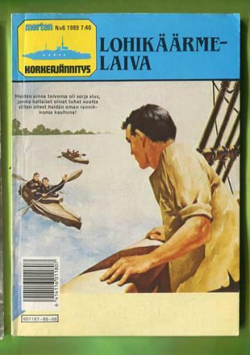 Merten Korkeajännitys 6/89 - Lohikäärmelaiva