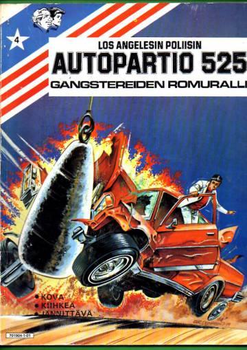 Los Angelesin poliisin Autopartio 525 4 - Gangstereiden romuralli