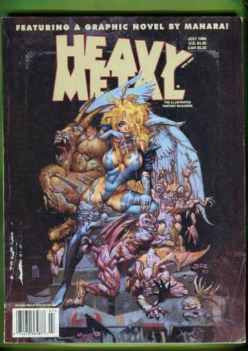 Heavy Metal Vol. XXII  #3 Jul 98