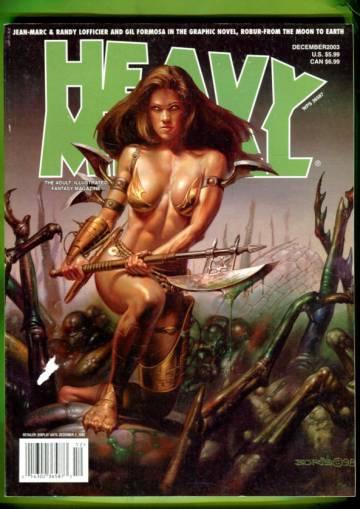 Heavy Metal Vol. 1 #3 Dec 03