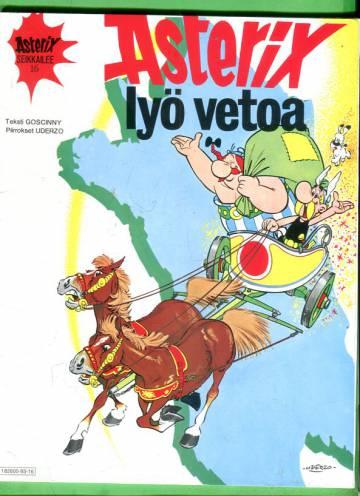 Asterix 16 - Asterix lyö vetoa