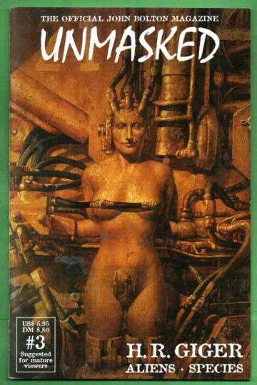 Unmasked #3 / Spring 1998 - H. R. Giger: Aliens, Species