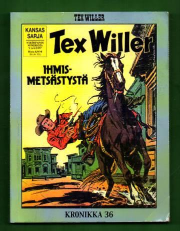 Tex Willer -kronikka 36 - Ihmismetsästystä