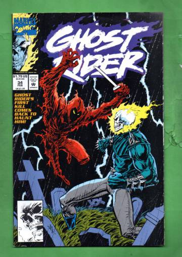 Ghost Rider Vol. 2 #34 Feb 93
