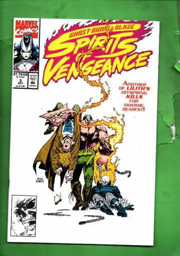 Ghost Rider/Blaze: Spirits of Vengeance Vol. 1 #3 Oct 92