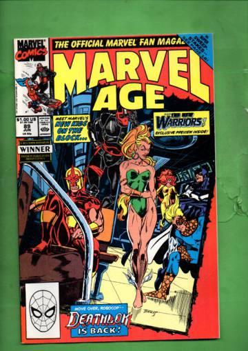 Marvel Age Vol. 1 #89 Jun 90