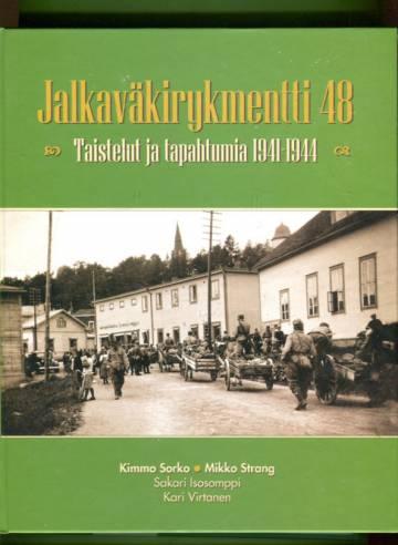 Jalkaväkirykmentti 48 - Taistelut ja tapahtumia 1941-1944: Joukko-osastohistoria