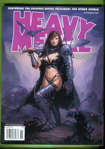 Heavy Metal Vol XXXII  #7 Nov 08