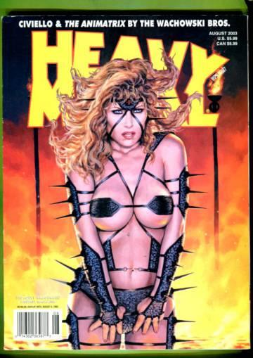 Heavy Metal Vol 1 #1 Aug 03