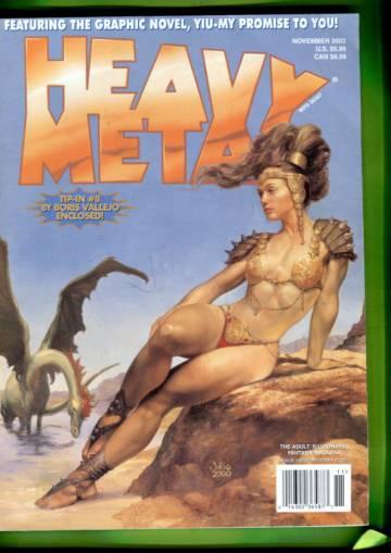 Heavy Metal Vol. 26 #5 Nov 02
