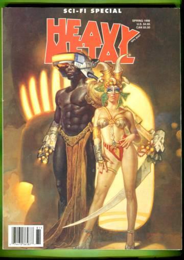 Heavy Metal Sci-fi Special Vol 12 #1 Spring 98