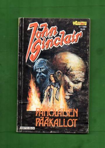 John Sinclair 4/89 - Paholaisen pääkallot (Yöjuttu)