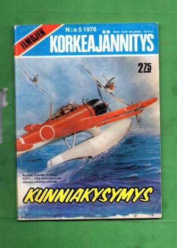 Ilmojen Korkeajännitys 5/76 - Kunniakysymys