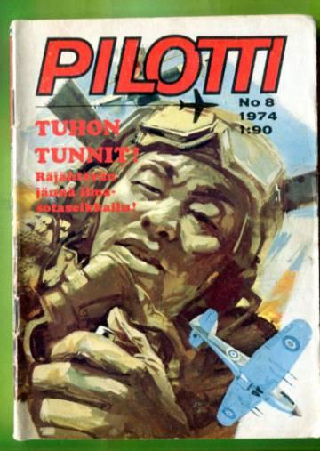 Pilotti 8/74 - Tuhon tunnit!