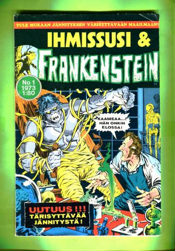 Ihmissusi & Frankenstein 1/73