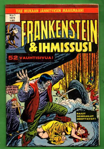 Frankenstein & ihmissusi 1/74