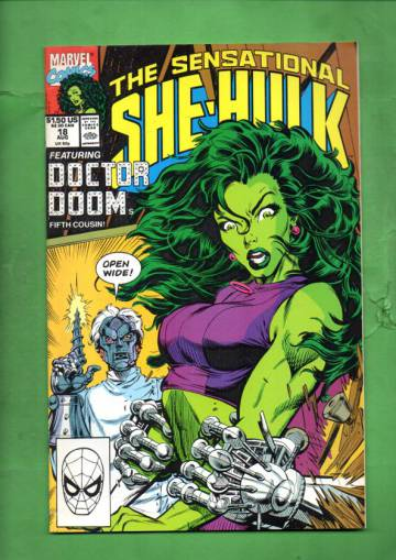 The Sensational She-Hulk Vol. 2 #18 Aug 90