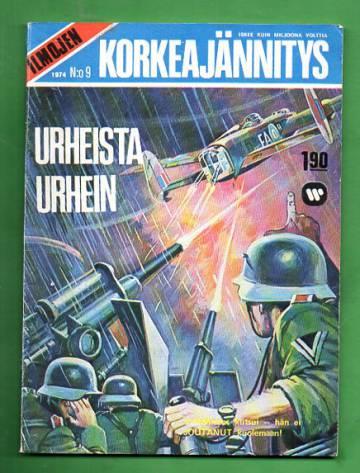 Ilmojen Korkeajännitys 9/74 - Urheista urhein