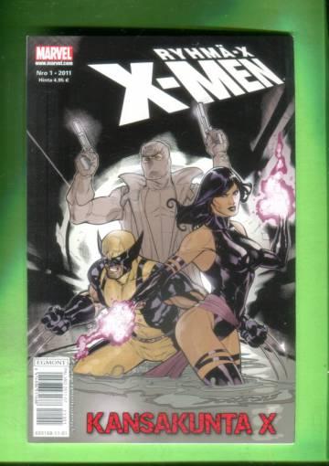 X-Men 1/11 (Ryhmä-X)