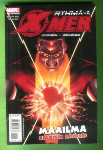 X-men 5/11 (Ryhmä-X)