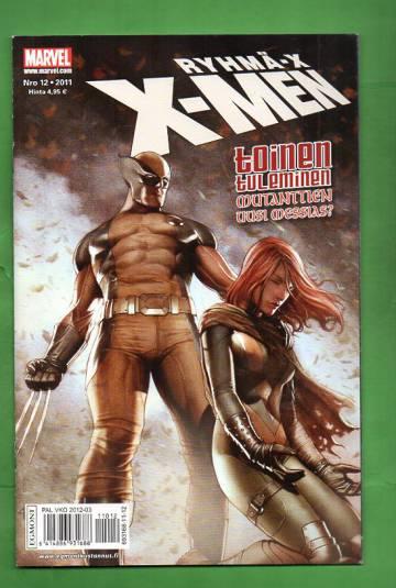 X-Men 12/11 (Ryhmä-X)