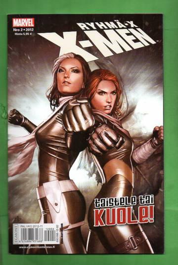 X-Men 2/12 (Ryhmä-X)
