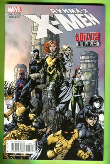 X-Men 4/12 (Ryhmä-X)