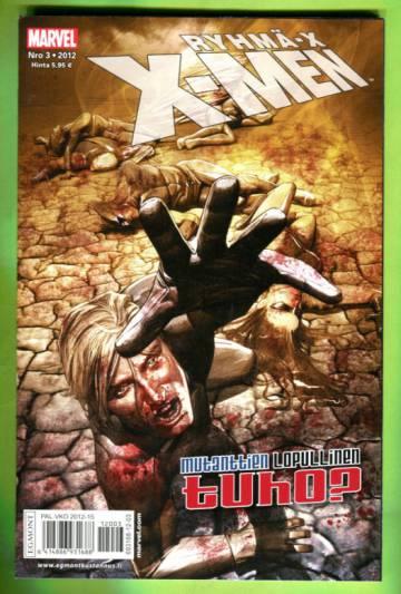 X-Men 3/12 (Ryhmä-X)