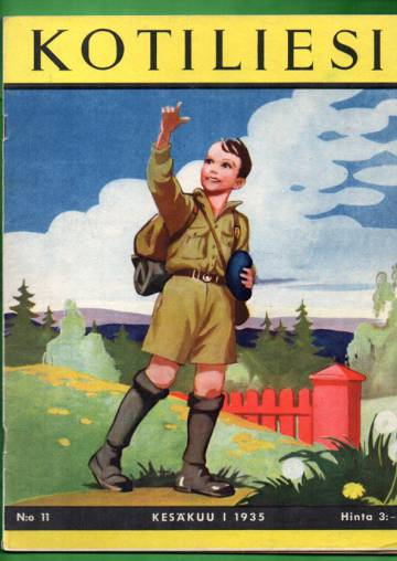 Kotiliesi N:o 11, kesäkuu I/1935 (Martta Wendelin)