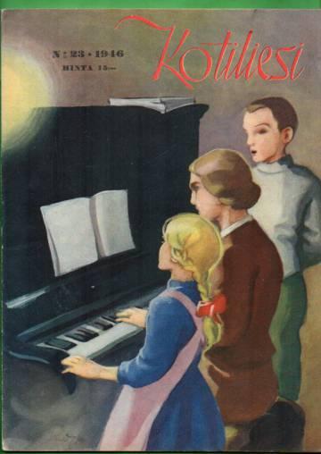 Kotiliesi N:o 23/1946 (Martta Wendelin)