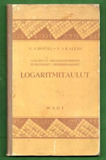 Lukujen ja trigonometristen funktioiden viisidesimaaliset logaritmitaulut