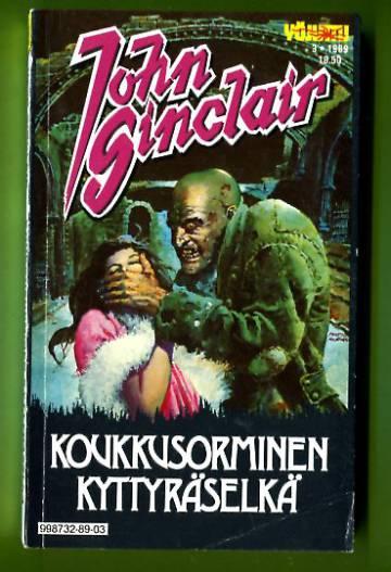 John Sinclair 3/89 - Koukkusorminen kyttyräselkä (Yöjuttu)