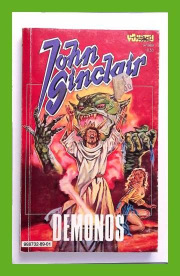 John Sinclair 1/89 - Demonos (Yöjuttu)