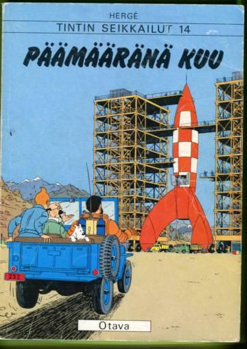 Tintin seikkailut 14 - Päämääränä kuu (1. painos)