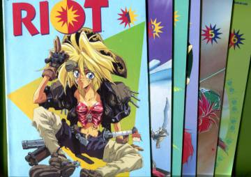 Riot #1-6 (Whole miniserie)