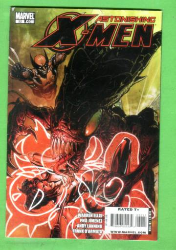 Astonishing X-Men #32, January 2010