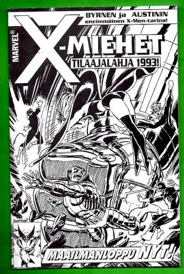 X-miehet-tilaajalahja 1993 - Maailmanloppu nyt! (X-Men)