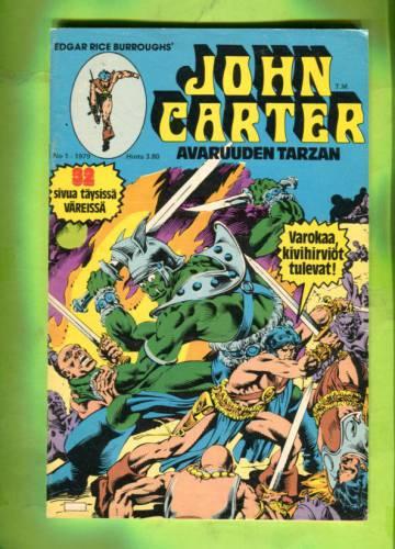 John Carter - Avaruuden Tarzan 1/79