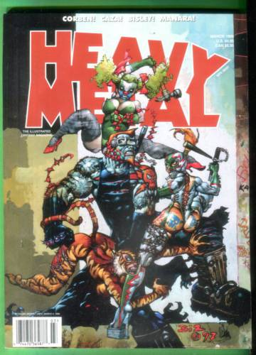 Heavy Metal Vol. XXIII, No. 1, March 1999