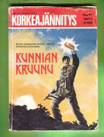Korkeajännitys 11/77 - Kunnian kruunu